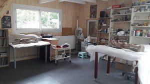 Atelier de conservation-restauration sculpture statue objet d'art pierre bois plâtre terre cuite marbre métal Monteaux Onzain Tours Amboise Blois
