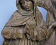 Musée Dobrée-bois polychromés Vierge et St Jean (2)