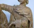 Musée Dobrée-bois polychromés Vierge et St Jean (3)